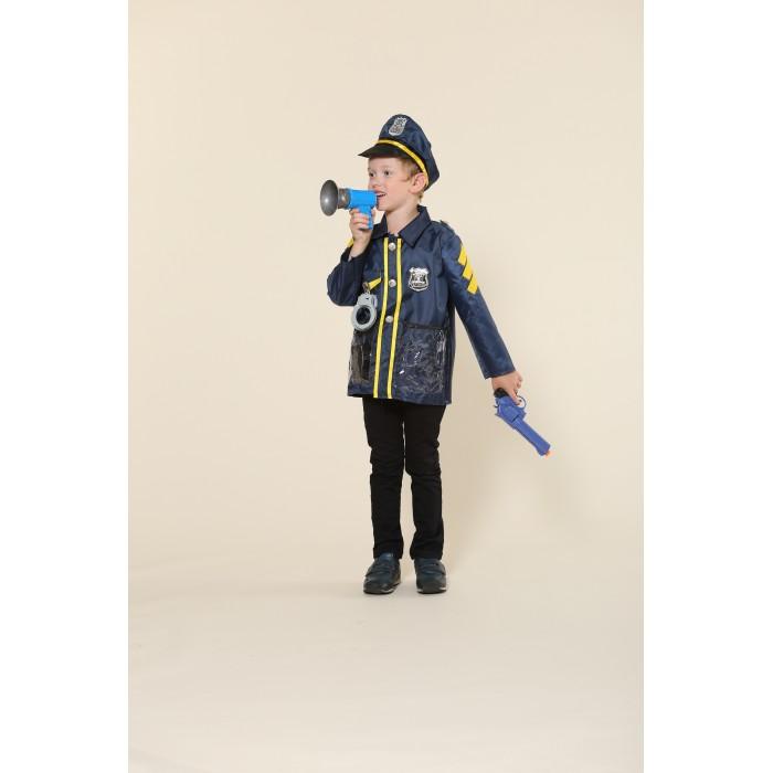 Карнавальные костюмы, Teplokid Игровой костюм полицейского с пистолетом  - купить со скидкой