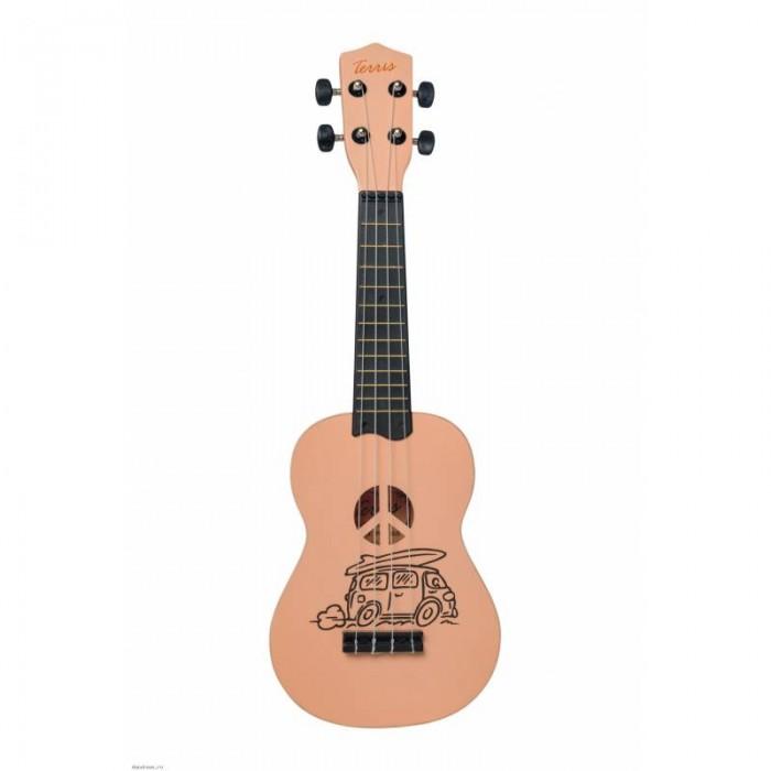 Фото - Музыкальные инструменты Terris Укулеле Сопрано PLUS BUS укулеле сопрано plus dino