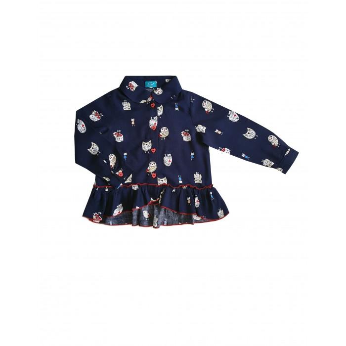 Блузки The hip! Блузка-туника с совами