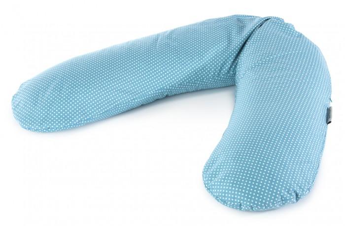 """Theraline Подушка для кормления 190 смПодушка для кормления 190 смПодушка Theraline необходима для беременных и кормящих мам во время сна, отдыха и кормления малыша.  Подушка для отдыха и кормления Theraline®  · наполнитель – микроскопично маленькие полистироловые шарики размером 0.5-1.5 мм, без запаха  · материал наволочек – хлопок · размер 190 см  · сделана в Германии, соответствует европейским стандартам TUV и Экотекс   Во время беременности для мамы:  · во время сна и отдыха можно положить под живот, под спину, когда сидите - под спину (как во время беременности, так и после родов), удобна для беременных во время сна   В процессе кормления:  · большую помощь в процессе грудного вскармливания оказывает специальная подддерживающая подушка, которая делает процесс кормления максимально комфортным и для мамы и для малыша  · она помогает удобно расположить малыша под разными углами, мягко поддерживая его  · освобождает мамины руки и снимает нагрузку с позвоночника  · это особенно актуально, если ребенок кушает неторопливо  · позволяет лучше опорожнять разные доли груди и таким образом уменьшается вероятность лактостазов  · кормить можно как сидя, так и лёжа!  · во время кормления удобная форма подковы, позволяет расположить ее вокруг талии, тем самым ослабить нагрузку на спину, шею, плечи, руки   Для малыша  · когда малыш лежит на диване – защитит от падения на пол  · может служить малышу в качестве """"уютного гнездышка"""" для игры и сна  · поможет малышу научиться самостоятельно сидеть  · может использоваться в гимнастике и игре<br>"""