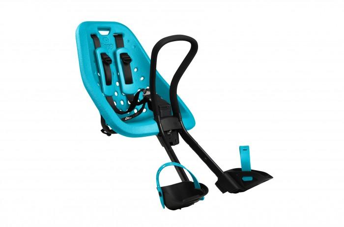 Thule Детское велокресло Yepp miniВелокресла<br>Thule Детское велокресло Yepp mini  Велокресло для детей Thule Yepp Mini на руль, прочное детское велокресло, которому можно доверить перевозку самого ценного груза. Идеально подходит для ежедневных прогулок. Устанавливается на руль велосипеда. Подходит для малышей до 15 килограмм.  Особенности: Детское велосипедное сиденье легко устанавливается и совместимо с большинством моделей велосипедов; Мягкое сиденье, смягчающее толчки и вибрацию, обеспечивает абсолютный комфорт для ребенка; Максимальный комфорт и безопасность благодаря регулируемому 5-точечному ремню безопасности с подкладкой; Оснащенная защитой от детей пряжка позволяет быстро и легко зафиксировать ребенка; Во время езды ребенок может держаться за удобную ручку; Адаптируется к параметрам ребенка по мере его роста и обеспечивает идеальную посадку благодаря регулируемым опорам для ног и фиксирующему ремню; Благодаря водоотталкивающим материалам сиденье всегда остается сухим и легко чистится; Разработано и протестировано для детей от 9 месяцев до 3 лет, весом до 15 кг. (Обратитесь к педиатру, если ребенку менее 1 года).