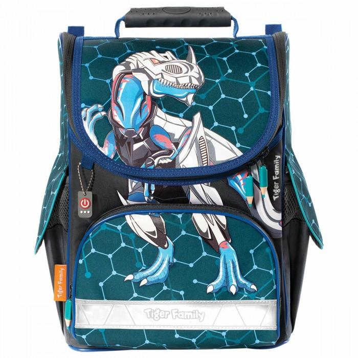 Школьные рюкзаки Tiger Family Ранец для начальной школы Nature Quest Metal Dino