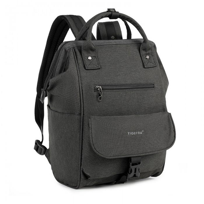 Tigernu Повседневный рюкзак с антиударной защитой T-B3189/Т-В3184Сумки для мамы<br>Рюкзак для ноутбука Tigernu T-B3189 одна из топовых моделей, которая отличается прочностью, функциональностью и вместительностью.   Многочисленные отделения и карманы рюкзака позволяют удобно расположить все, что вам может потребоваться в течение дня - книги, документы, сменную спортивную одежду, ноутбук, планшет и прочие вещи. Причем рюкзак отлично справляется с различными нагрузками, благодаря усиленным швам и двойным молниям.   Особенности:  дышащую спинку анатомически правильной формы, которая равномерно распределяет нагрузку по всей поверхности спины удобные, регулируемые по высоте лямки отдельно расположенный отсек для ноутбука с антиударной защитой и возможностью надежной фиксации использование в изготовлении влаго- и износоустойчивых материалов, которые защищают содержимое модели от промокания большой объем внутреннего пространства рюкзака потайной карман для ценных вещей. материал: водоотталкивающий полиэстер материал подкладки: полиэстер рюкзак размер: 31 x 16 x 48 см
