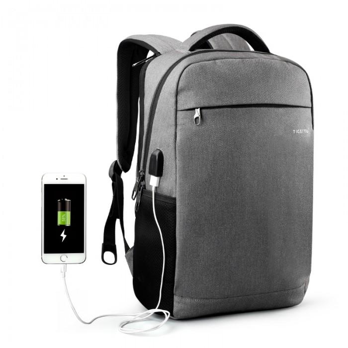 Купить Сумки для мамы, Tigernu Повседневный рюкзак с защитой от кражи и внешний USB T-B3217