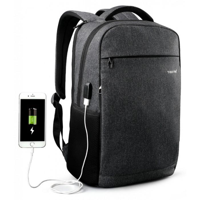 Tigernu Повседневный рюкзак с защитой от кражи и внешний USB T-B3217 фото