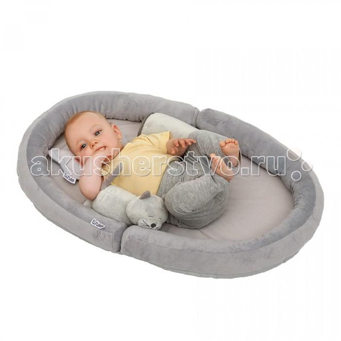 Tineo Коврик с валиками овальный Baby Nest Котенок