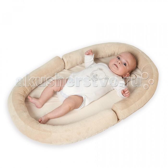 Постельные принадлежности , Позиционеры для сна Tineo Коврик с валиками овальный Baby Nest Мишка арт: 266757 -  Позиционеры для сна