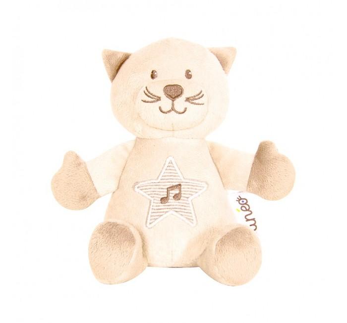 Мягкая игрушка Tineo Развивающая музыкальная Котенок