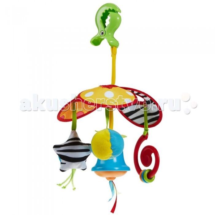 Подвесные игрушки Tiny Love на коляску Веселая карусель игрушки подвески tiny love подвеска погремушка теленок кузя