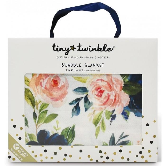 Купить Пеленки, Пеленка TinyTwinkle Розы 120х120 см
