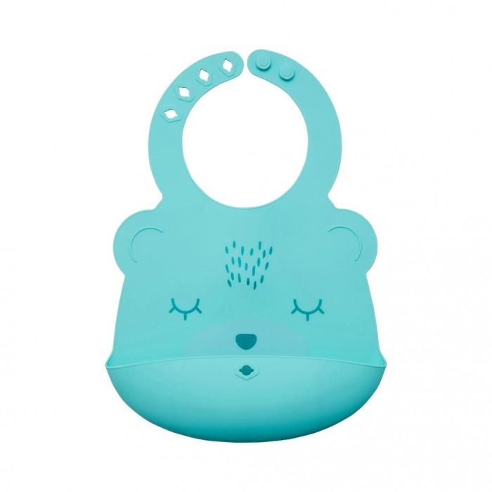 Купить Нагрудники, Нагрудник TinyTwinkle силиконовый Мишка SB-B