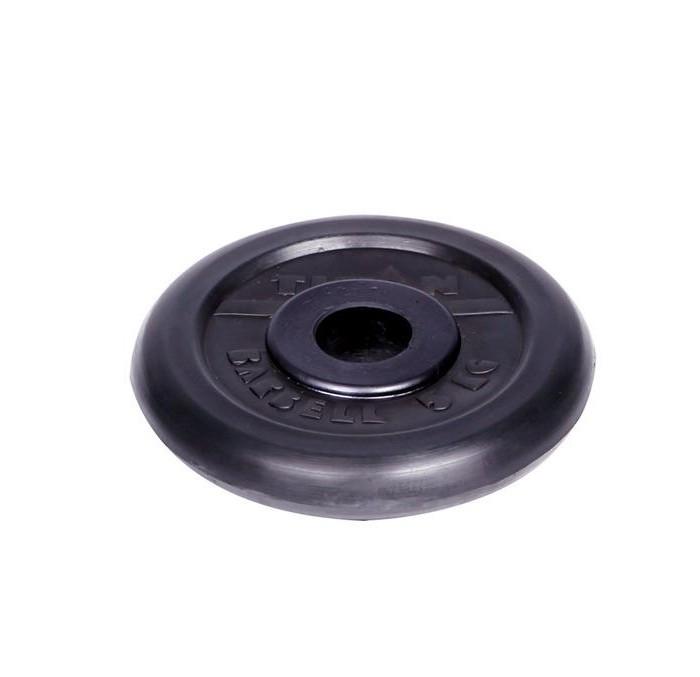 Спортивный инвентарь Titan Диск обрезиненный d 31 мм 5 кг