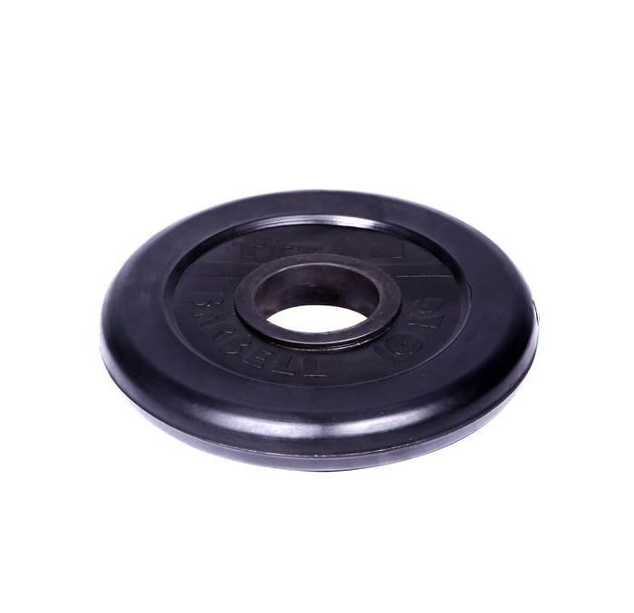 Titan Диск обрезиненный d 51 мм 10 кг
