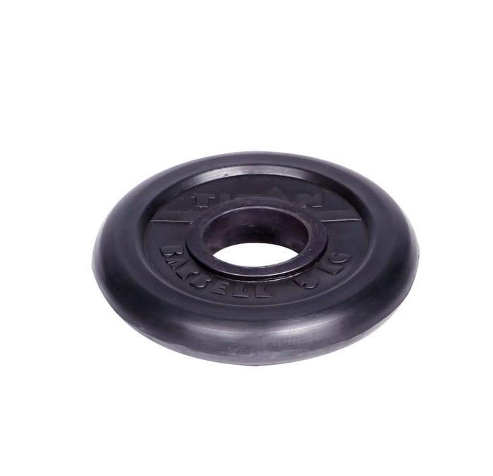 Спортивный инвентарь Titan Диск обрезиненный d 51 мм 5 кг