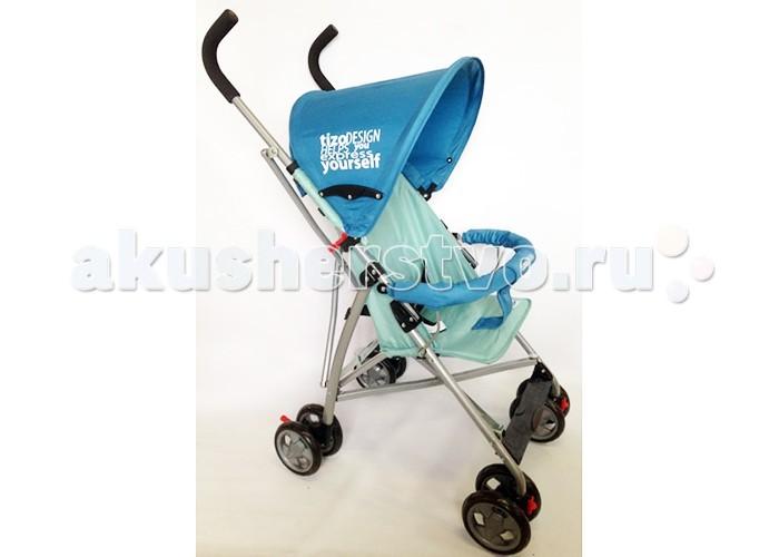 Коляска-трость Tizo LuckyLuckyКоляска-трость Tizo Lucky предназначена для одного ребенка в возрасте с 6 месяцев. Безопасность ребенка при движении обеспечат двухточечные ремни и съемный бампер. Спинка коляски не наклоняется.   Коляска трость TIZO Lucky имеет четыре двойных колеса. Передние поворотные с возможностью фиксации и задние фиксированные с тормозом. Амортизация колес позволяет плавно передвигаться по любой поверхности. Ручка коляски отделана противоскользящим материалом. Коляска складывается по типу трость, удобна для переноски и поездок.<br>