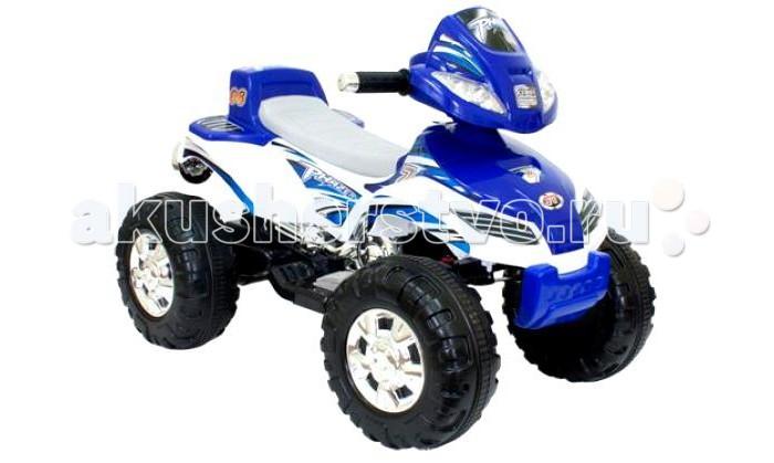 Электромобиль TjaGo XT SportXT SportЭлектромобиль TjaGo XT Sport – удачная покупка для любого малыша в возрасте от 2 до 4 лет. На нем можно ездить по твердым и ровным площадкам и тротуарам с углом возвышения не более 10 градусов. Модель оснащена пластмассовыми колесами с протектором. Устройство обладает малым весом, его можно легко внести в дом. Управляя квадроциклом, малыш развивает координацию движений и получает первые навыки вождения.  Материал: стальная рама, крепкий пластиковый каркас, очень прочный и гибкий; покраска по специальной технологии, позволяющая легко полировать поверхность от царапин.<br>