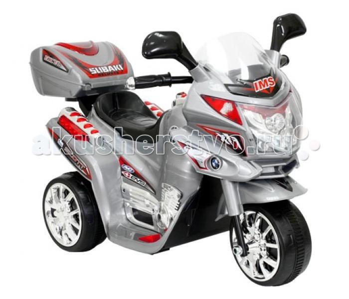 Электромобиль TjaGo Мотоцикл Cycra трехколесныйМотоцикл Cycra трехколесныйДетский трехколесный мотоцикл CYCRA HC8051 Toymart на аккумуляторе.  Особенности:  Для детей от 2х до 5 лет (нагрузка до 20кг) Аккумулятор 6 вольт, 4 A/h Время работы 1 заряда бат. 1-1,5часа Мощность мотора 12 ватт Скорость 2,5-3км/ч Звуковые и световые эффекты, сигнал, свет фар Ручное переключение движения вперёд - назад Зеркала заднего вида Багажник (открывается) 3 колеса из прочного пластика Размеры мотоцикла - 81,5х37х53,5см Размеры коробки - 59,7х37,2х35,8см Вес в коробке 6,9кг Производство - Китай<br>
