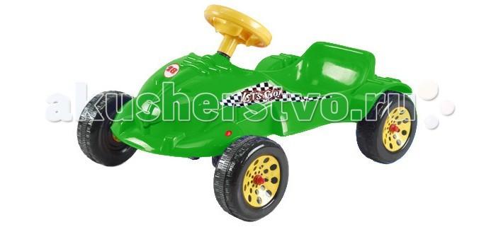 Детский транспорт , Педальные машины TjaGo Педальная машина Весёлый друг арт: 24013 -  Педальные машины