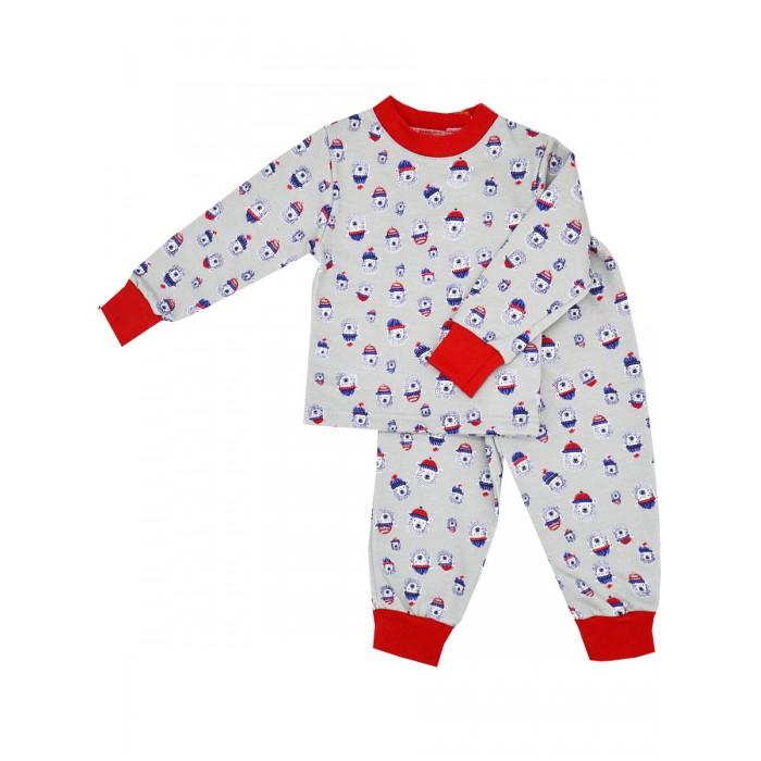 Фото - Домашняя одежда Рыжий кот ТМ Пижама для мальчика Мишки коробка рыжий кот 33х20х13см 8 5л д хранения обуви пластик с крышкой