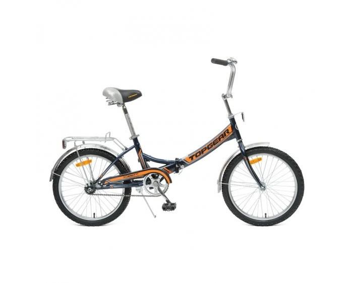 Велосипед двухколесный TopGear складной Compact 50, 6 скоростей 20