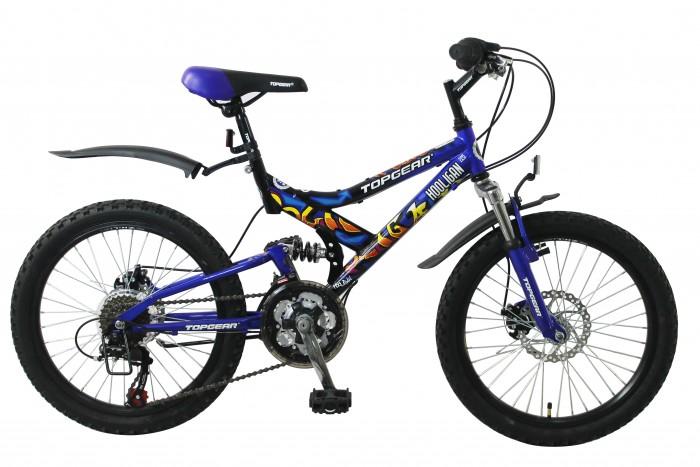 Детский транспорт , Двухколесные велосипеды TopGear Hooligan 20 арт: 333185 -  Двухколесные велосипеды