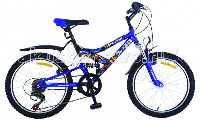 Велосипед двухколесный TopGear Hooligan 220 20Hooligan 220 20Велосипед двухколесный Hooligan 220 20 двухподвес для езды по различным типам местности. Hooligan 220 привлекает внимание ярким спортивным дизайном и отличной проходимостью. В основном предназначен для катания детей и подростков. Велосипед Top Gear оснащен ободным тормозом и переключателем с 6 скоростями.<br>