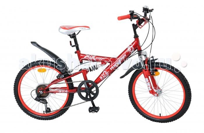 Детский транспорт , Двухколесные велосипеды TopGear Junior Boxer 20 арт: 333200 -  Двухколесные велосипеды