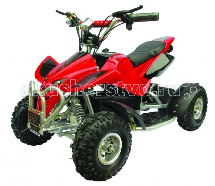 Электромобиль TopGear Квадроцикл СпортКвадроцикл СпортЭлектромобиль TopGear Квадроцикл Спорт отличается ярким красочным внешним видом, агрессивным дизайном, стильным исполнением и изготовлено из высококачественных надежных материалов, благодаря чему прослужит долгое время, радуя своего владельца.    Особенности: колеса, размер: 4 максимальная нагрузка: 50 кг размер (см): 103х66х63 масса: 45 кг для детей от 6 лет аккумулятор: 36В/12Ач мотор: 500 Вт привод: цепь максимальная скорость: 20 км/ч.<br>