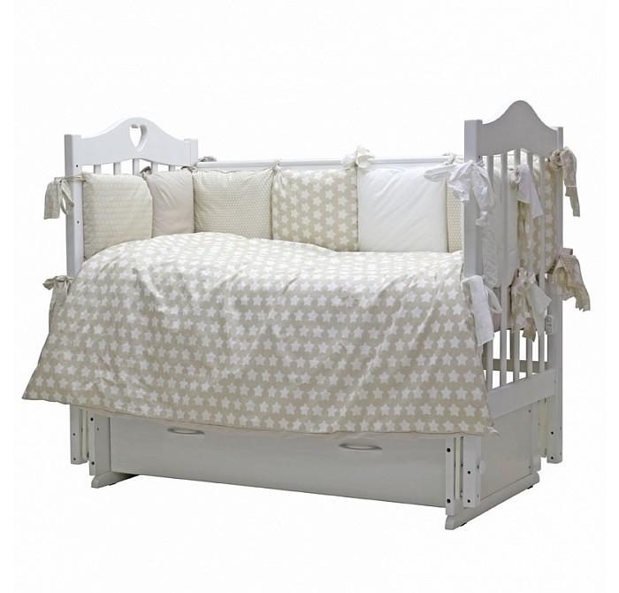 Постельное белье Топотушки 12 месяцев (3 предмета) комплекты в кроватку топотушки 12 месяцев 6 предметов