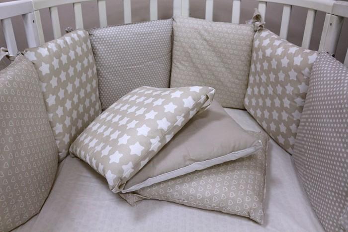 Бортики в кроватку Топотушки 12 месяцев бортики в кроватку nattou charlotte