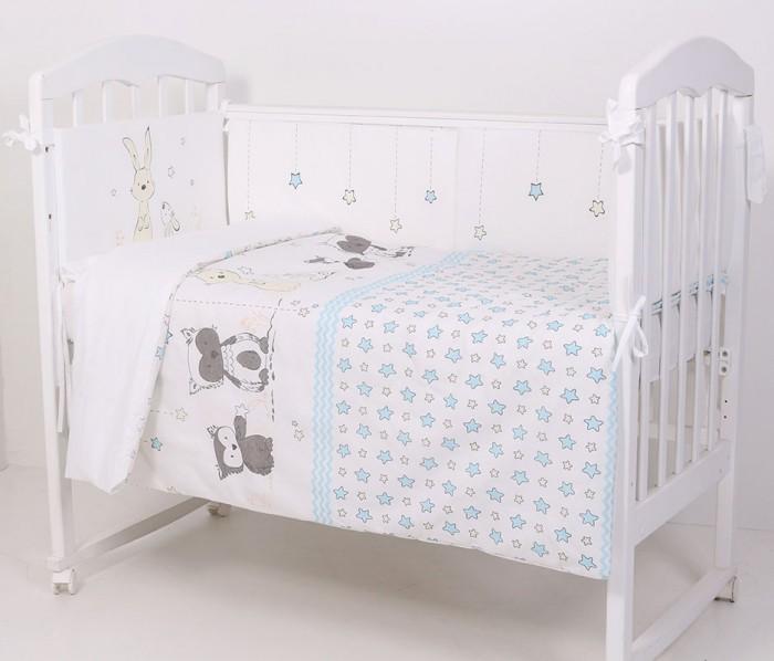 Комплект в кроватку Топотушки Друзья (6 предметов) фото