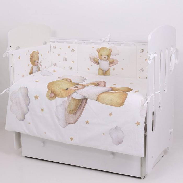 Купить Комплекты в кроватку, Комплект в кроватку Топотушки Лучик (6 предметов)
