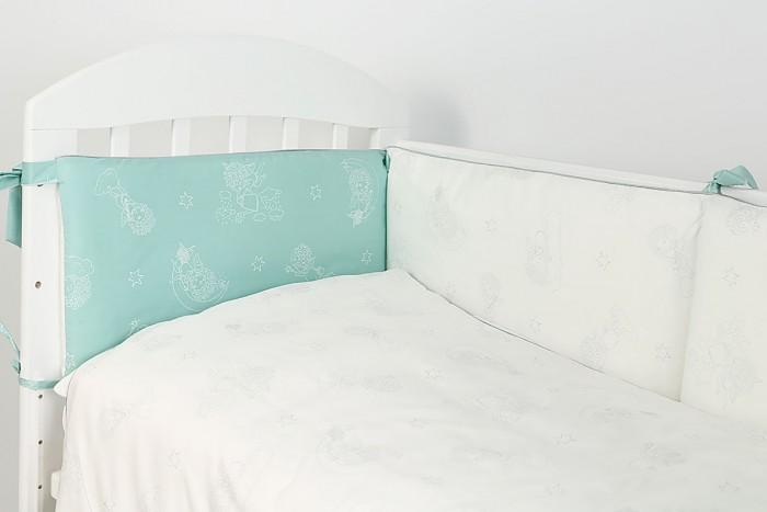Купить Комплекты в кроватку, Комплект в кроватку Топотушки Ангелочки (6 предметов)