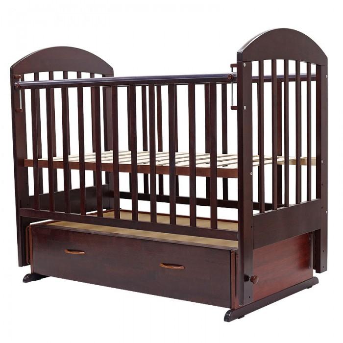 Детская кроватка Топотушки Дарина-6 (поперечный маятник)