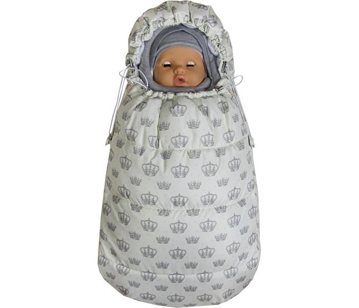 Купить Конверты для новорожденных, Топотушки Демисезонный конверт для новорожденного Бемби Корона