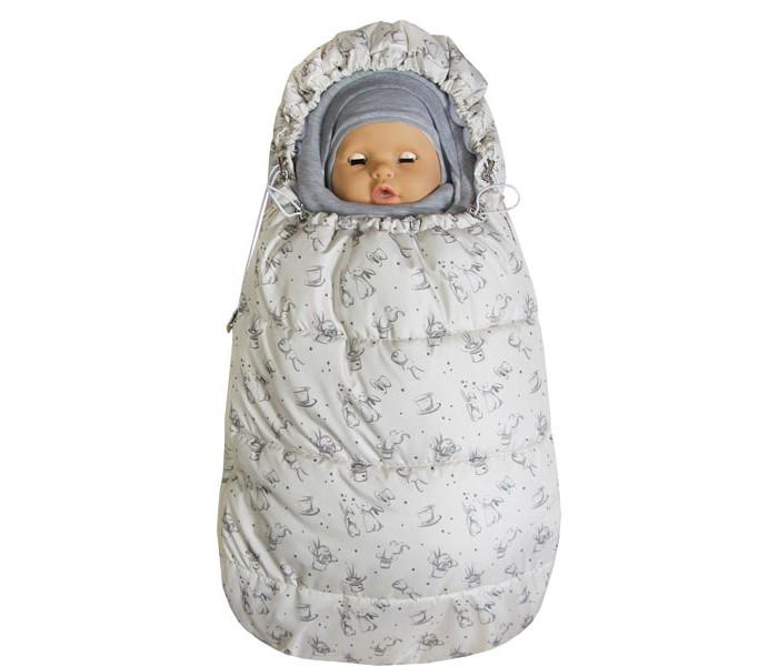 Купить Конверты для новорожденных, Топотушки Демисезонный конверт для новорожденного Бемби Зайчики