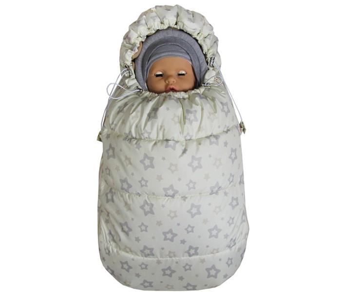 Купить Конверты для новорожденных, Топотушки Демисезонный конверт для новорожденного Бемби Звезда