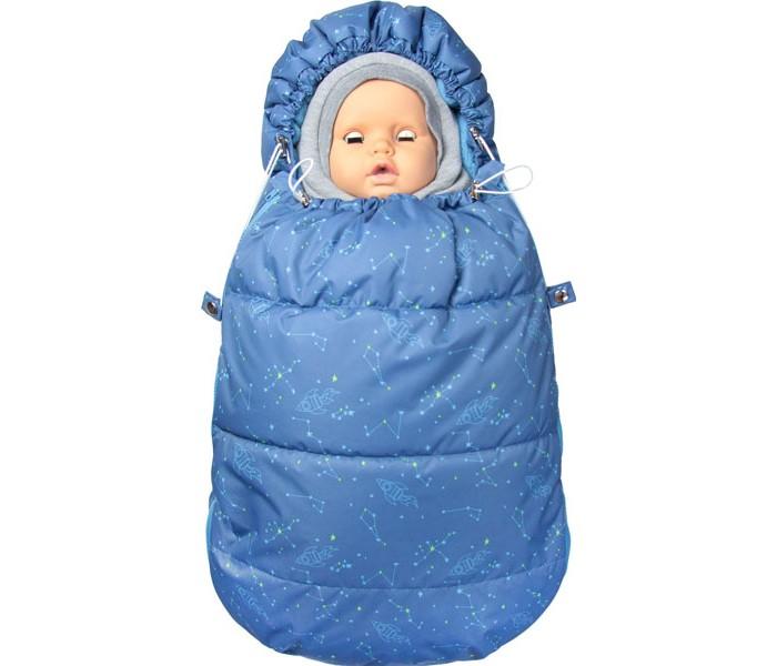 Купить Конверты для новорожденных, Топотушки Демисезонный конверт для новорожденного Бемби Звездопад
