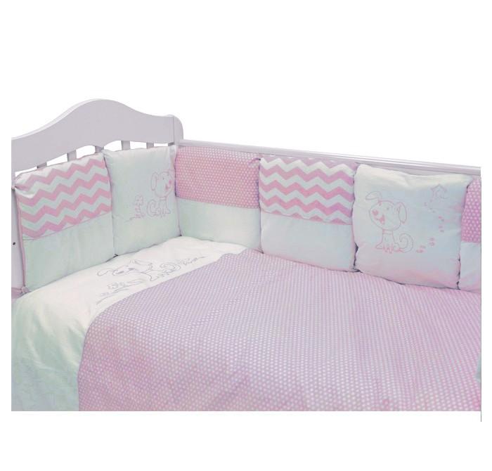 Купить Комплекты в кроватку, Комплект в кроватку Топотушки Гав-гав (6 предметов)
