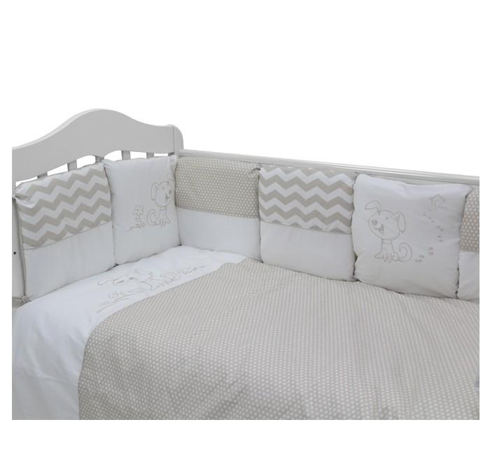 Комплекты в кроватку Топотушки Гав-гав (6 предметов) комплекты в кроватку топотушки 12 месяцев 6 предметов