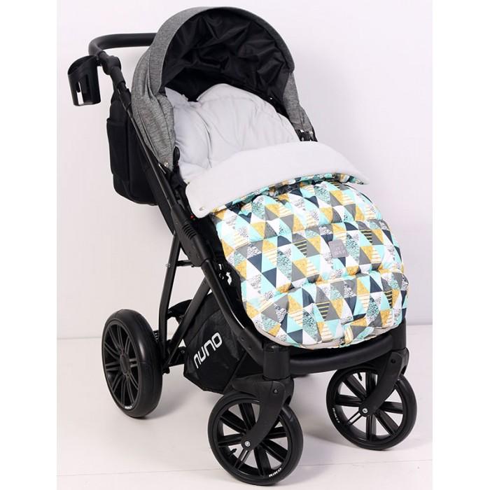 Картинка для Конверты для новорожденных Топотушки Конверт в коляску Нильс Треугольники