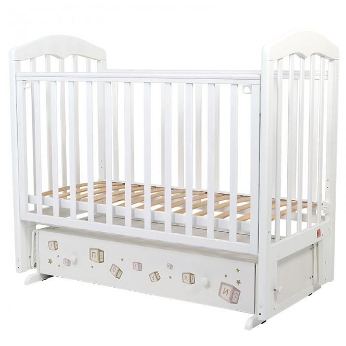 Детские кроватки, Детская кроватка Топотушки Лучик маятник поперечный  - купить со скидкой