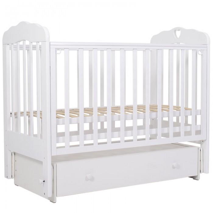 Купить Детские кроватки, Детская кроватка Топотушки Мария 6 120x60 см (маятник поперечный)