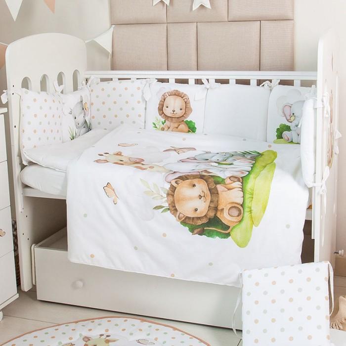 Купить Комплекты в кроватку, Комплект в кроватку Топотушки Малыши (6 предметов)