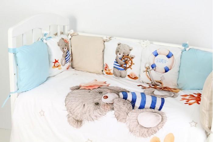 Комплект в кроватку Топотушки Морской круиз (6 предметов)