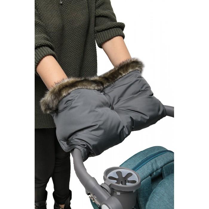 Муфты для рук Топотушки Муфта Престиж для прогулки на ручку коляски комплект зимний конверт mammie с мехом вельбоа муфта на ручку коляски варежки цвет серый