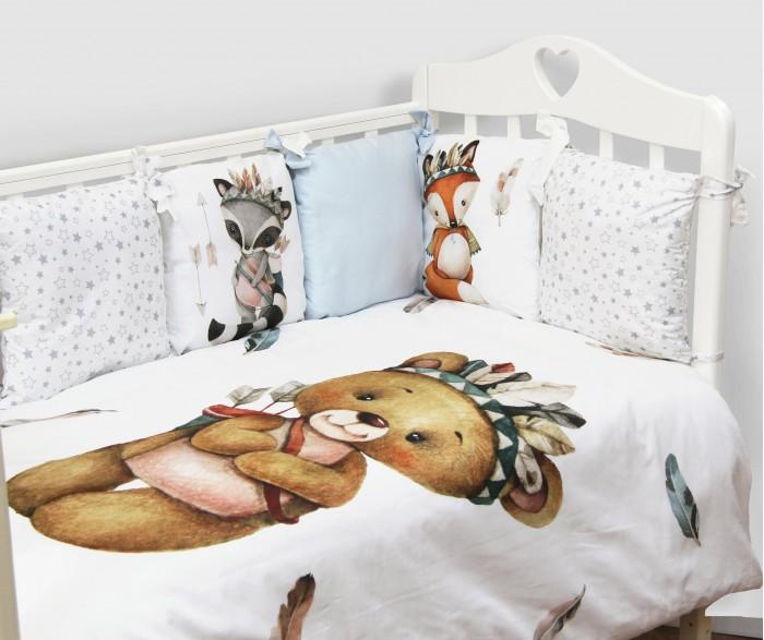 Комплекты в кроватку Топотушки Охотники (6 предметов) чемодан wenger zurich ii цвет черный 48 см x 30 см x 72 см 104 л