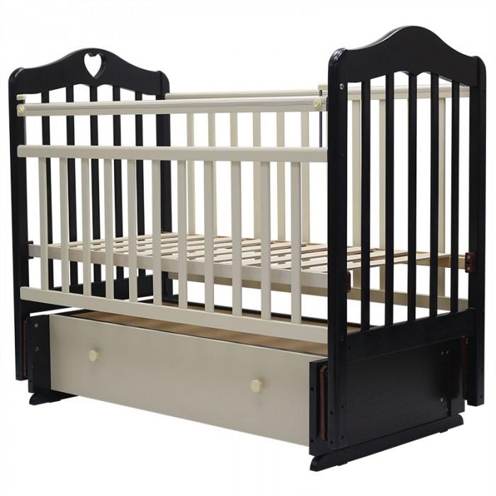 Детская кроватка Топотушки Оливия-7 (универсальный маятник)