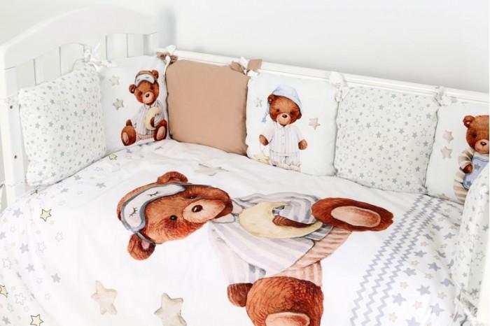 Комплект в кроватку Топотушки Пижамная вечеринка (6 предметов)
