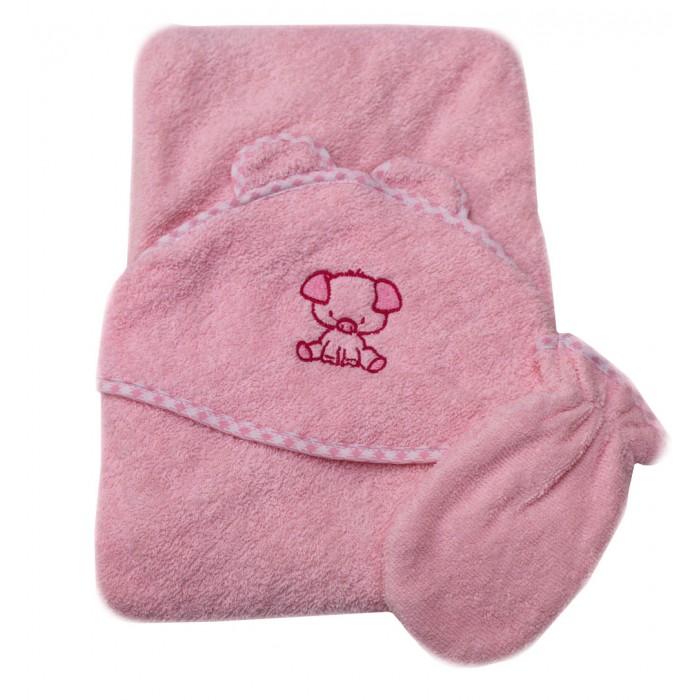Полотенца Топотушки Полотенце-уголок с рукавичкой полотенца kipkep полотенце xl 200х120